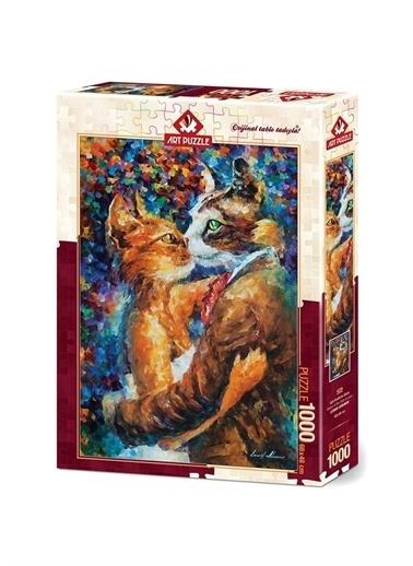 Art Puzzle Art Puzzle Aşık Kedilerin Dansı 1000 Parça Puzzle  Renksiz